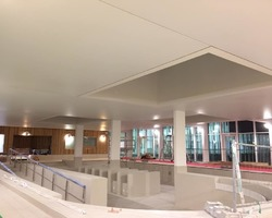 Plafond tendu complexe aquatique SOISSONS
